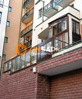 Террасы и балконы в частном доме