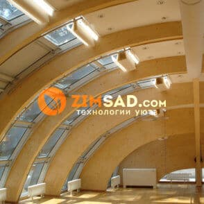 Внутренняя часть купола