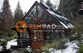 зимний сад для газеты Коммерсант