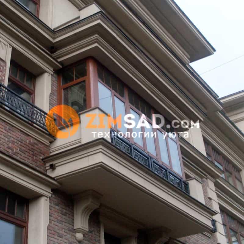 Балкон на 2-м Зачатьвском переулке