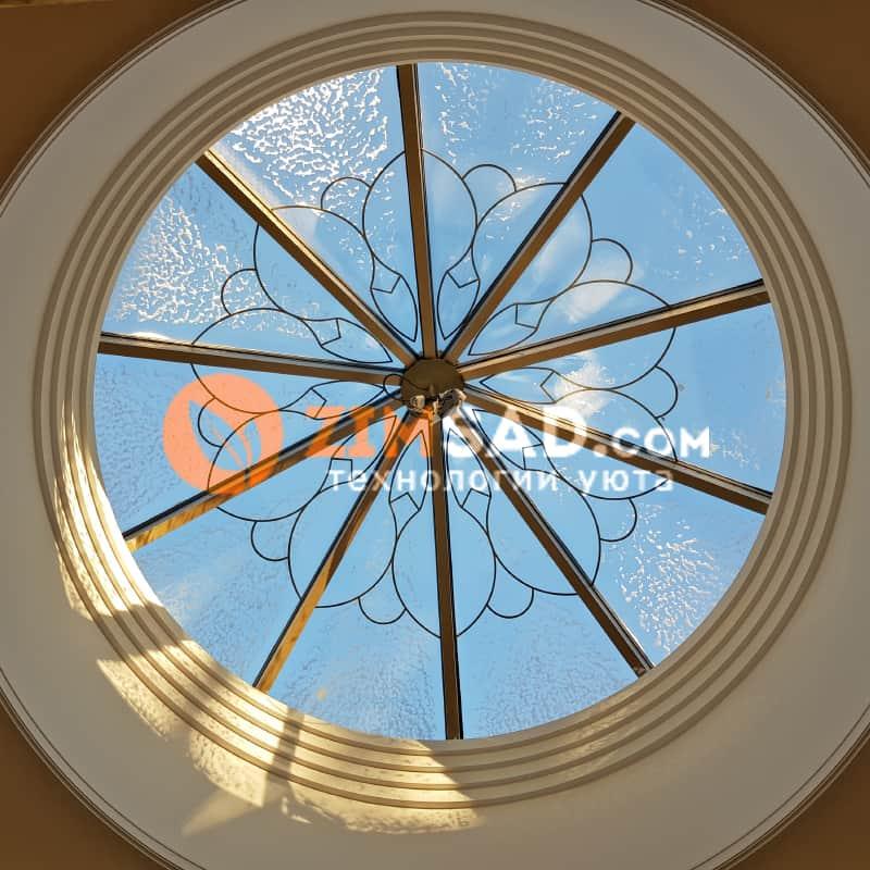 Десятигранный купол с обогревом